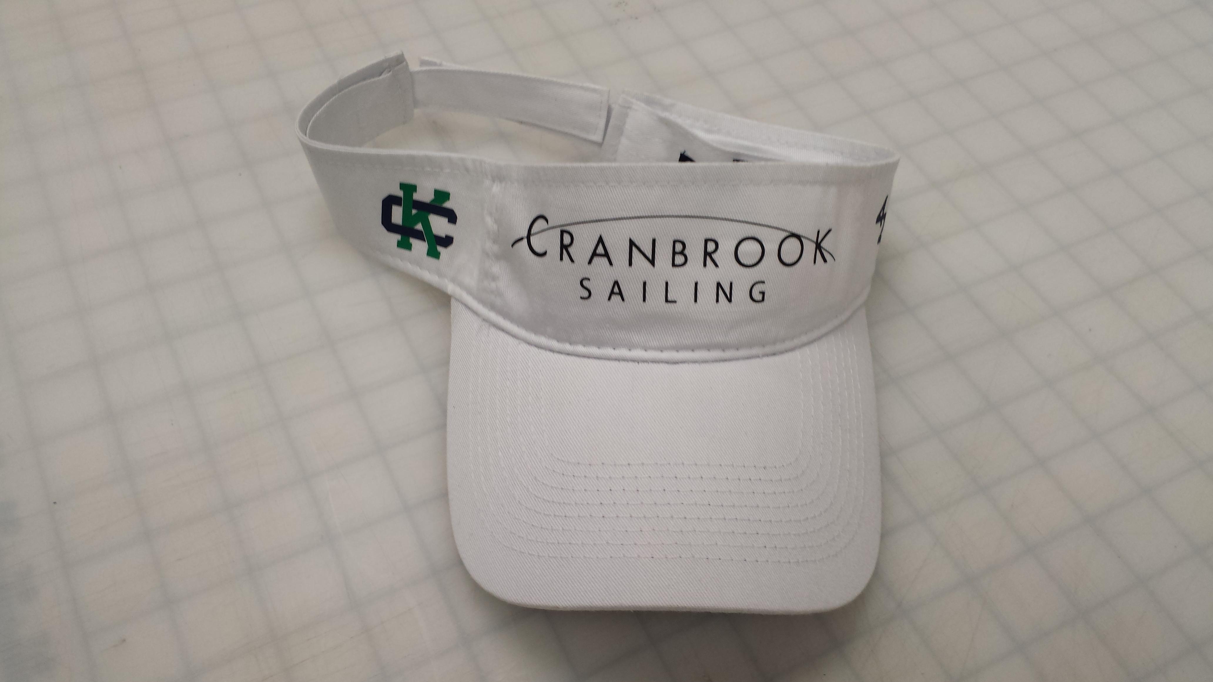 Cranbrook Sailing Team Visors