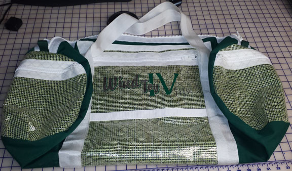 Custom Sailing Duffel Bag