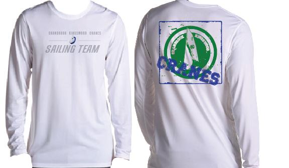 2014 Cranbrook Sailing Team Shirts